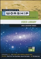 iWorship Resource MPEG Library Resource System DVD W-Z  - Slightly Imperfect