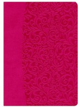 Everyday Life Bible: The Power of God's Word For Everyday... (Fuchsia Pink Leatherette) - Slightly Imperfect