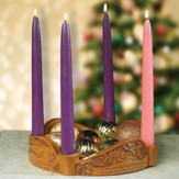 Glory to God Advent Wreath with Candles