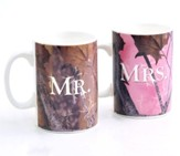 Marriage Takes Three Mug Set, Camo