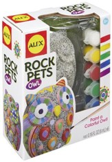 Paint A Rock Pet, Owl