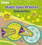 Math Spin Wheels - Subtraction