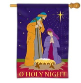 O Holy Night, Nativity Flag, Large