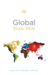 ESV Global Study Bible, Hardcover - Slightly Imperfect