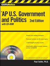 CliffsNotes AP U.S. Government and Politics with CDROM, 2nd Edition