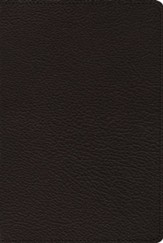 ESV Omega Thinline Reference Bible: 80th Anniversary Edition (Black Goatskin Leather)