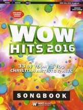 WOW Hits 2016 Songbook