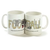 Football, Always Take the Time To Pray Mug