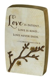 Love, Blessing Branches Plaque