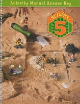 BJU Press Science Grade 5 Student Activities Key (4th Edition)