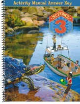 BJU Press Science Grade 3 Student Activities Answer Key (4th Edition)