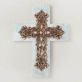 Something Blue Wall Cross