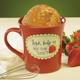 Lord, Help Us See The Light, Cake Mug with Whisk