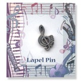 The Gift of Music Lapel Pin