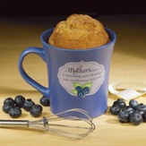 A Mother's Heart, Cake Mug with Whisk