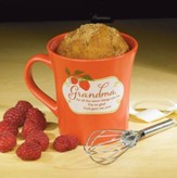 Grandma, God Gave Me You! Cake Mug with Whisk