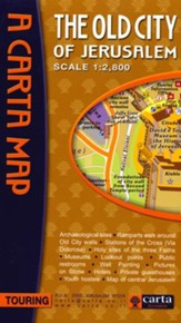 Old City of Jerusalem Map