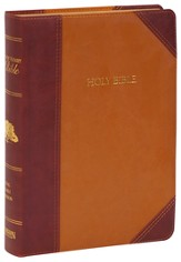 KJV Matthew Henry Bible, Flexisoft brown/mahogany