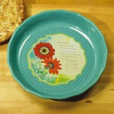 Woman of Faith Pie Plate