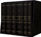 ESV Reader's Bible, Six-Volume  Set--black cloth over board with verse numbers and permanent slipcase