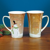Thanking God For a Friend Like You At Christmastime Mug