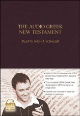 The Audio Greek New Testament (UBS4) - MP3 DVD