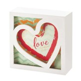 Heart, Love Plaque, Small