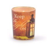 Keep the Light On Tealight Holder
