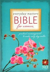 NLT Everyday Matters Bible for Women, Hardcover  - Slightly Imperfect