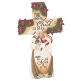 Holy Family Tabletop Cross Figurine