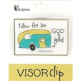 God Is Good, Camper Visor Clip