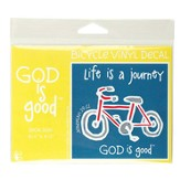 God Is Good, Bicycle Decal Sticker
