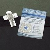 Police Officer's Prayer Visor Clip and Prayer Card