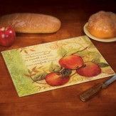 Love, Warmth & Comfort, Apples Design, Cutting Board