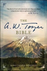 The A. W. Tozer Bible: KJV Version, hardcover  thumb-indexed