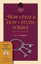 How to Pray & How to Study the Bible--Book and MP3 CD