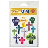 Cross, Rejoice Sticker Pack