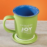 Full Of Joy Coaster Mug