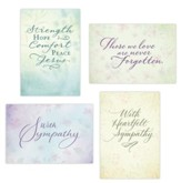 Simply States Sympathy, Boxed Cards