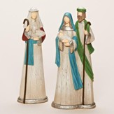 Contemporary Holy Family Nativity Set 2 Pieces