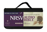 NRSV Audio Bible Catholic Edition on CD