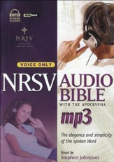 NRSV Audio Bible with the Apocrypha  on MP3