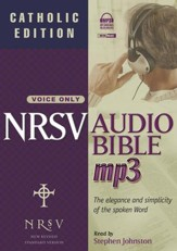 NRSV Audio Bible - Catholic Edition on MP3  - Slightly Imperfect
