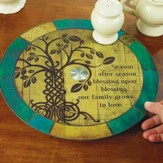Irish Tree of Life Lazy Susan