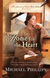 A Home for the Heart, Journals of Corrie Belle Hollister Series #8