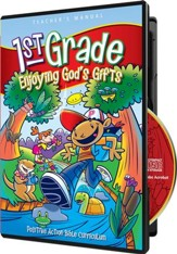 Enjoying God's Gifts Teacher's Manual on CD-ROM (1st Grade)