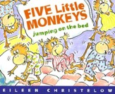 Five Little Monkeys Jumping On The Bed, Softcover