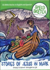 Speed Sketch Bible Stories: Stories of Jesus in Mark