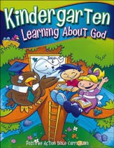 Learning About God Student Manual  (Kindergarten K5)