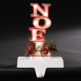 LED Noel Stocking Holder